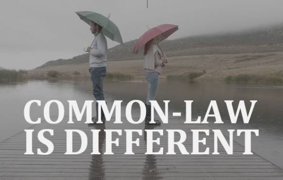Common-law couples are different than married couples