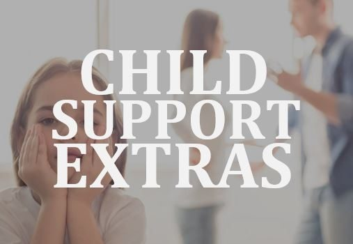 Legal rights attached to extra child support