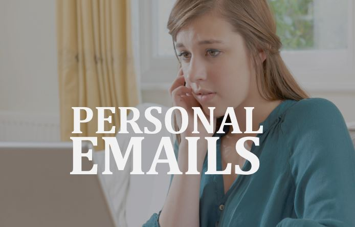 Lawyer Timothy Sullivan on personal emails