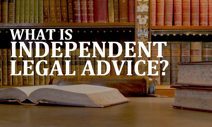 Lawyer Timothy Sullivan explains independent legal advice