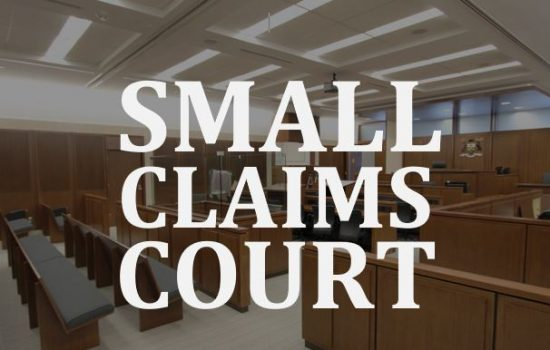 Ottawa lawyer Timothy Sullivan small claims court